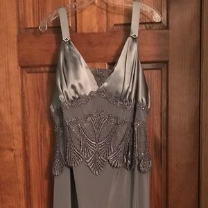 Mother of the bride evening dress